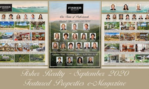 Fisher Realty Featured Properties September 2020