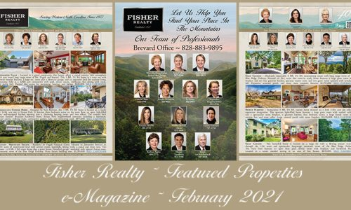 Fisher Realty Featured Properties February 2021
